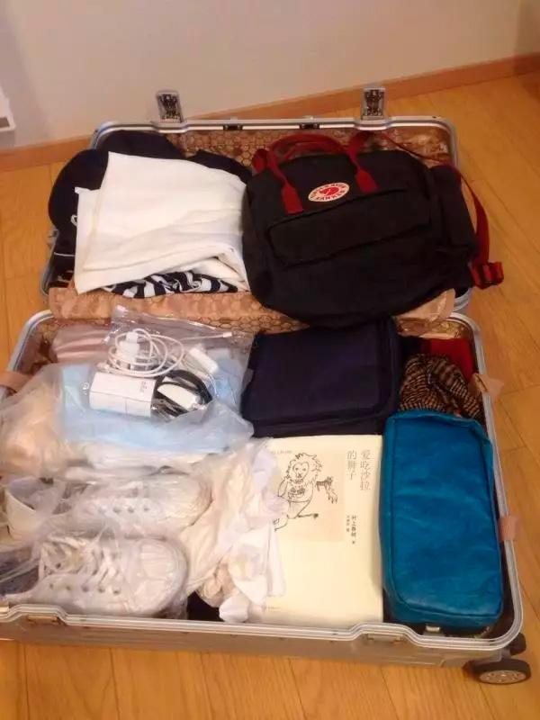 危秋洁的行李仍完好的放在旅馆房间中。 危秋洁好友 提供