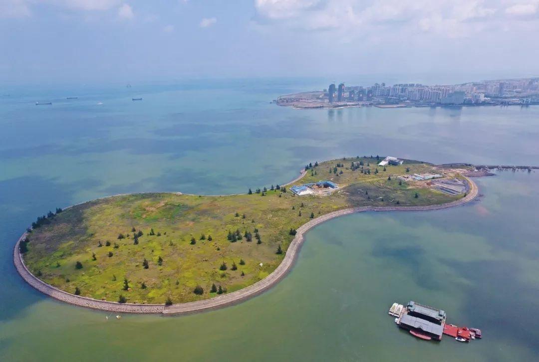 海南人工岛——海口湾灯塔酒店填海项目,对生态