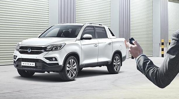 盖世汽车讯 2018年韩国双龙汽车引入了一款顶级皮卡Musso,该款车型曾在日内外车展上亮相过。