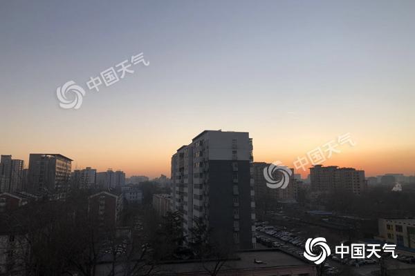 北京今上午霾消散 下周二全天气温低于0℃