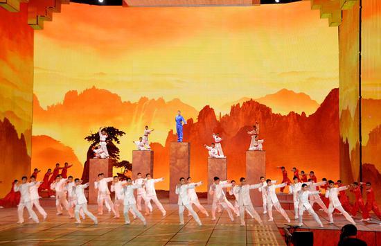 河南功夫小子将再战春晚 120名学员赴京排练