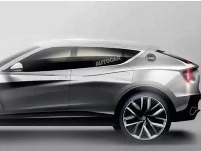 外观方面,这款超跑SUV整个车头看起来更为扁平,整台车的重心更低,LED前大灯组采用三角形样式俯冲向前,前进气格栅分三部分,位于车头下部分,车头整体与保时捷十分相似。