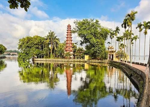 越南河内镇国寺(视觉中国)