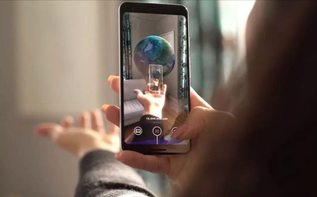 138亿年在手中!谷歌用手机体验宇宙大爆炸,还教你用机器学习实现AR自拍特效