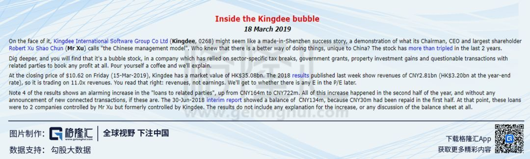 """金蝶被质疑""""泡沫股票"""",发生了什么?"""