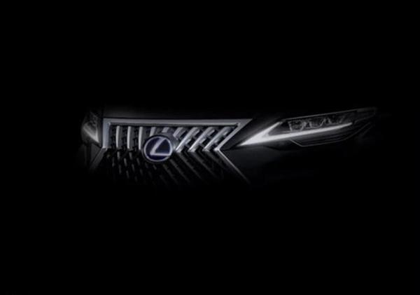 雷克萨斯全新车型预告图 上海车展亮相