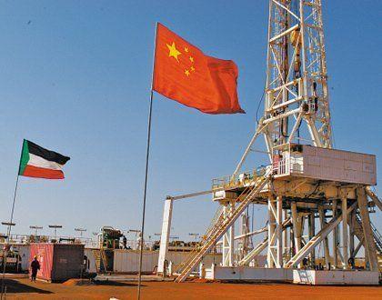 中国在苏丹的采油设施