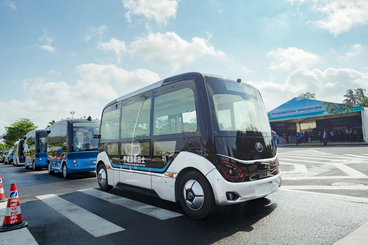 宇通L4级自动驾驶巴士亮相,无人驾驶将迎来更大市场空间
