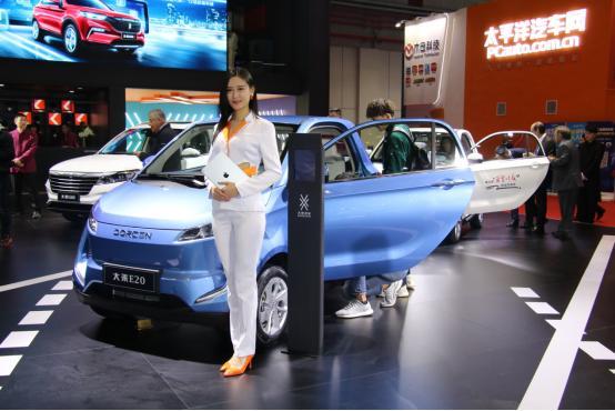 大乘汽车首次亮相国际车展 战略车型G60S正式上市