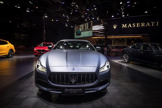 玛莎拉蒂全系车型登陆上海车展 私人定制版总裁亮相