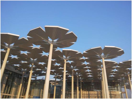 建筑皆植物:汉能柔性薄膜组件装点2019中国世界园艺博览会