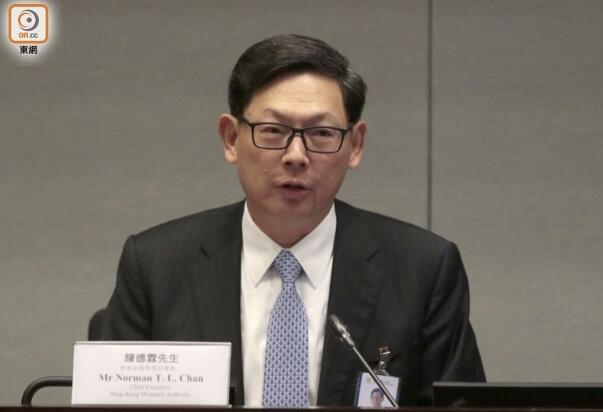 香港金管局总裁:香港无可避免受到中美贸易牵连