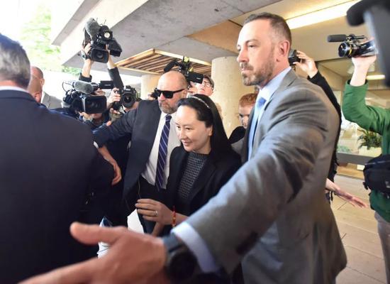孟晚舟再出庭 华为声明:她的基本人权遭多次严重侵犯