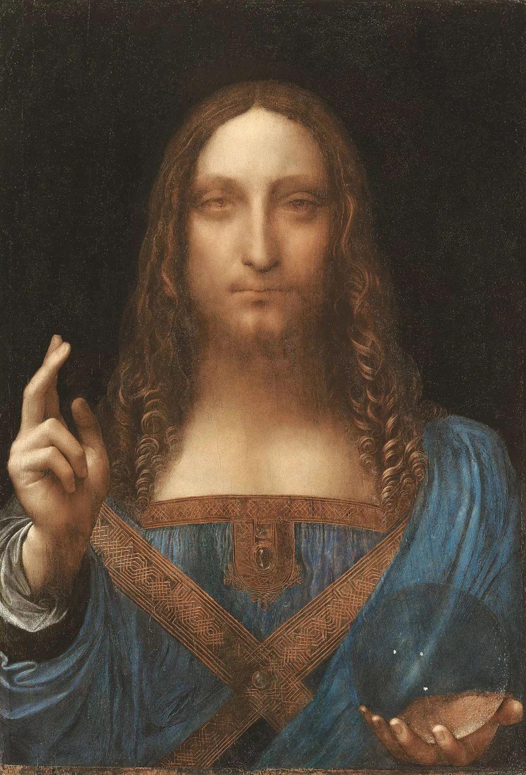 """2017年11月15日,佳士得拍卖了一幅名为《救世主》的绘画作品,它最终以4.5亿美元(包括手续费)售出,创下单一艺术品的最高拍卖价纪录。1958年,当它作为某位收藏者的遗产被拍卖时,成交价还不到一百美元。这幅名为《救世主》作品创作时间可以追溯到1500年,一度失踪了几百年,它被发现时已经被后人涂上过多层油彩,画面残破,而且一直被认为是列奥纳多作品的摹本。2005年,这幅画再次被转卖,买家认为这幅画不仅仅是摹本。后来这幅画经历了长达六年的鉴定和清理修复。2007年协助修复作品的一位工作人员仍记得清除表层油彩后发现是列奥纳多真迹时的兴奋之情,她说:""""我的手不断地颤抖,我回家后以为自己疯了。"""""""