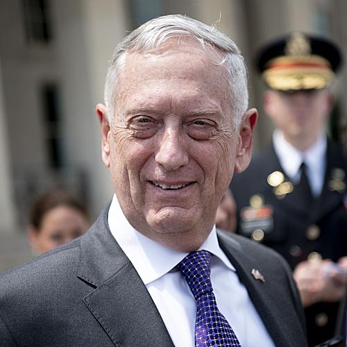 原料图片:美国前国防部长马蒂斯(新华社)