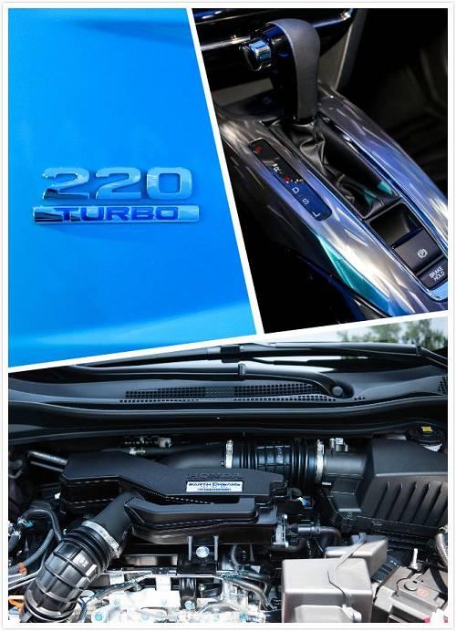 即便获得了如此亮眼的成绩,东风本田也未停止对XR-V的升级改造。7月11日,全新XR-V在广州领潮上市,市场指导价12.79万元—17.59万元。而其中最值得一提的便是全新XR-V搭载了与思域同款的220TURBO发动机,最大功率130kW/6000rpm,峰值扭矩220Nm/1700-5500rpm,低转速时即可输出澎湃动力,百公里加速最快仅需8.9秒;百公里综合油耗仅为6.1升,实现强劲动力与超低油耗的完美结合。