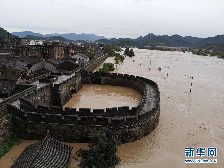 古城洪灾 八方驰援――洪水灾害下的浙江临海现场目击