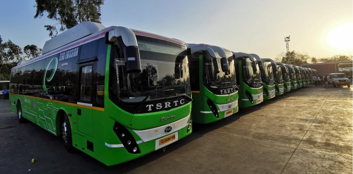 比亚迪成为印度当地交付电动巴士最多的汽车品牌