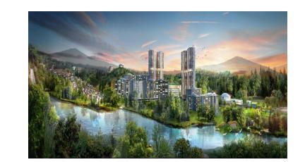 世茂马来西亚文东生态城酒店项目(效果图)