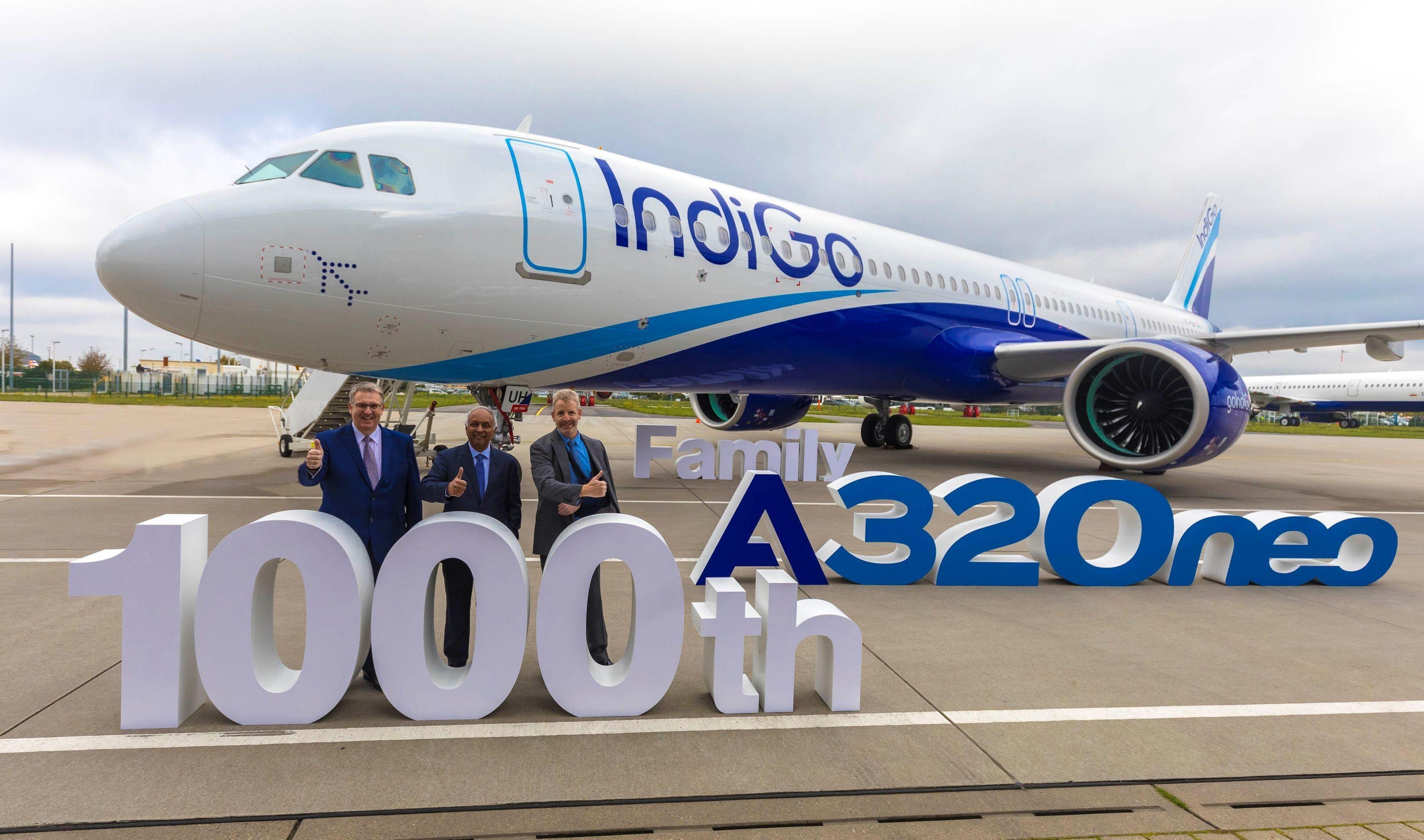 民航早报:空客交付第1000架A320neo系列飞机