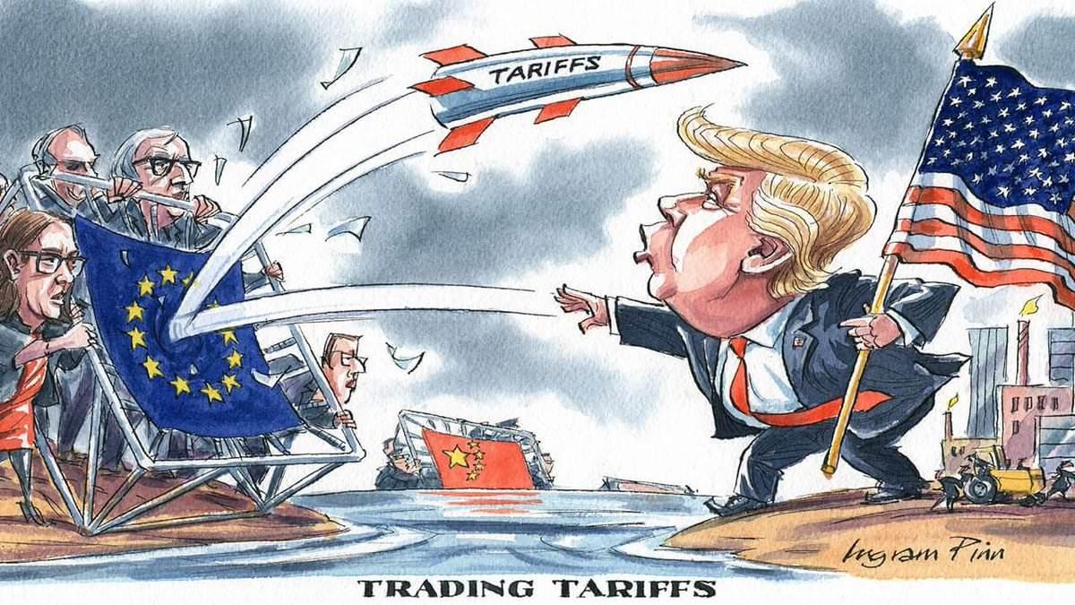美方确认将于周五向部分欧盟商品征收10%和25%关税