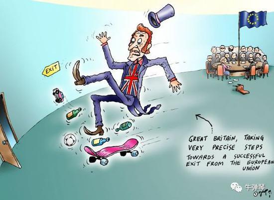 广发证券线上开户牛弹琴:全世界目瞪口呆,英国脱欧,脱成了这样一个三重闹剧!