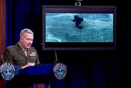 美公布突袭巴格达迪行动影像