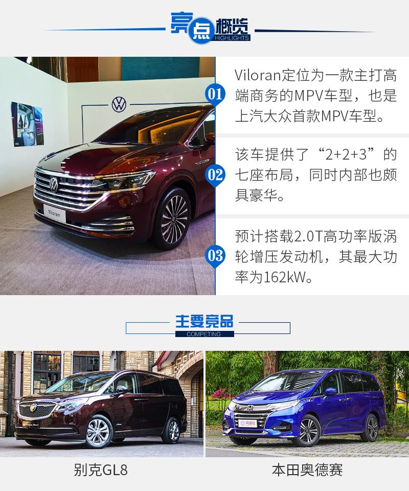 2019广州车展图解 上汽大众首款MPV——Viloran