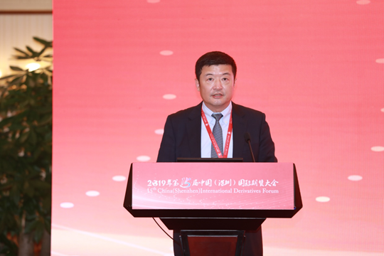 新湖期货有限公司总经理杨熙东主持分论坛