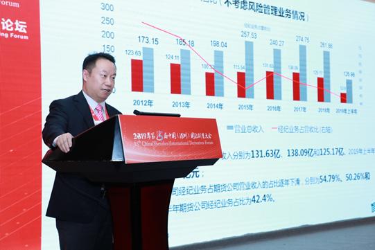 新湖期货有限公司董事长马文胜主题演讲