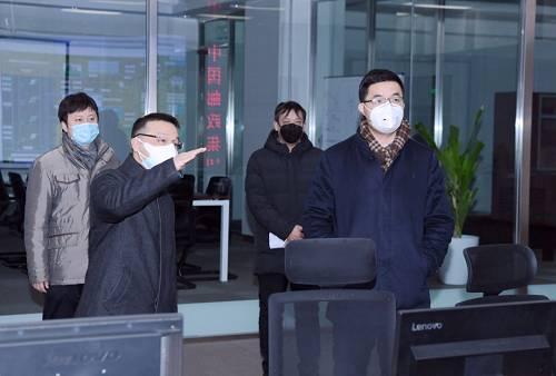 张金良、郭新双等检查指导疫情防控工作,看望慰问坚守奋战在疫情防控一线的干部员工
