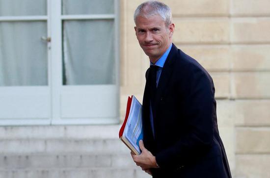 法国文化部长确诊新冠肺炎 7天前曾会见马克龙