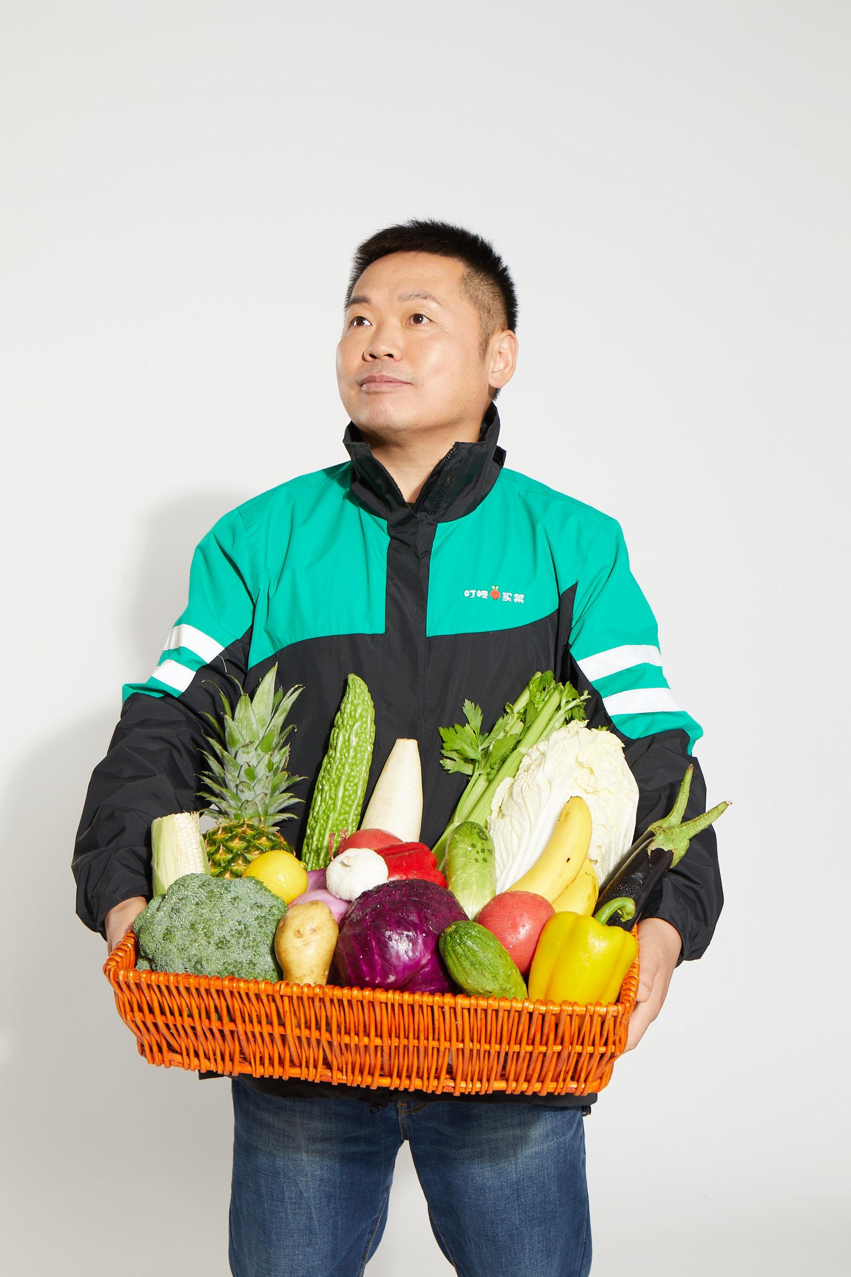 叮咚买菜创始人、CEO梁昌霖