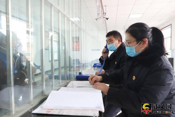江苏赣榆:疫情防控、办案两不误