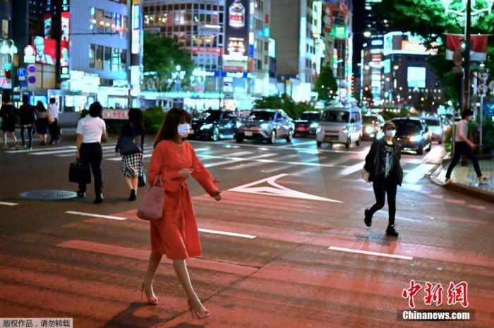 新冠疫情警报指标超标2项 日本东京都保持警戒