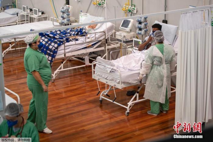 巴西单日新增新冠肺炎确诊病例超3.3万例 累计确诊超140万例