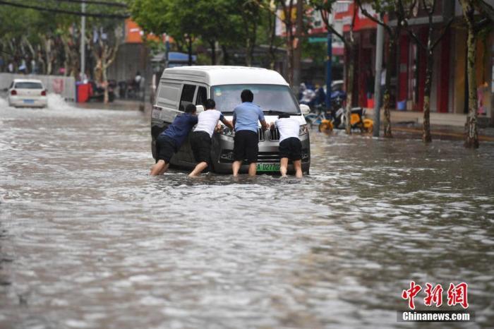 中国气象局启动重大气象灾害暴雨四级应急响应