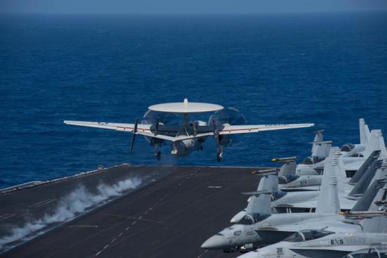 国防部回应美航母南海军演:你兴风作浪 我乘风破浪
