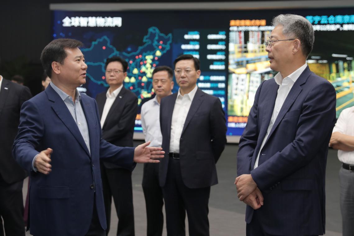 光大集团董事长李晓鹏818期间造访苏宁,深化场景合作促消费
