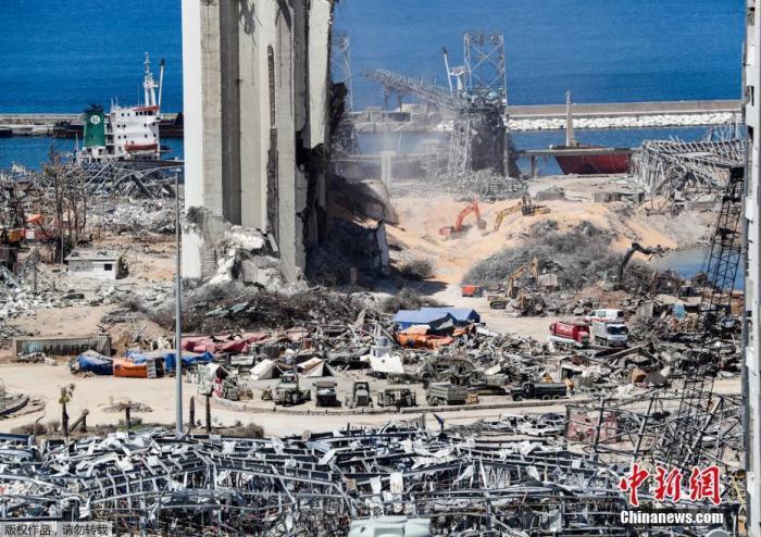 黎巴嫩爆炸事故后 埃及着手处理本国港口内危险废弃物