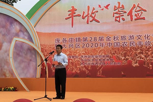 大兴庞各庄举办旅游文化节 30余种梨品可供游客采摘