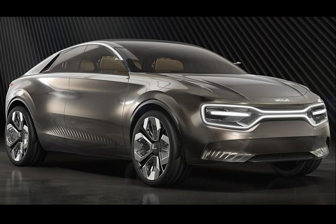"""起亚汽车明年将推首款纯电架构汽车 代号""""CV"""""""