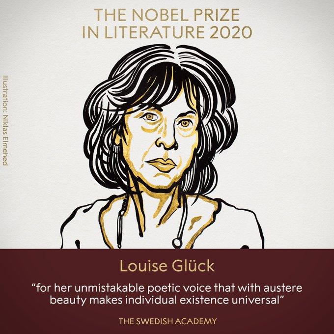 """""""诗意之声""""打动评委 美国女诗人获诺贝尔文学奖"""