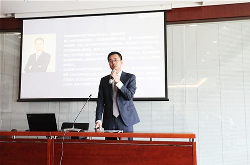 天同律师事务所高级合伙人、执业律师池伟宏先生专题演讲