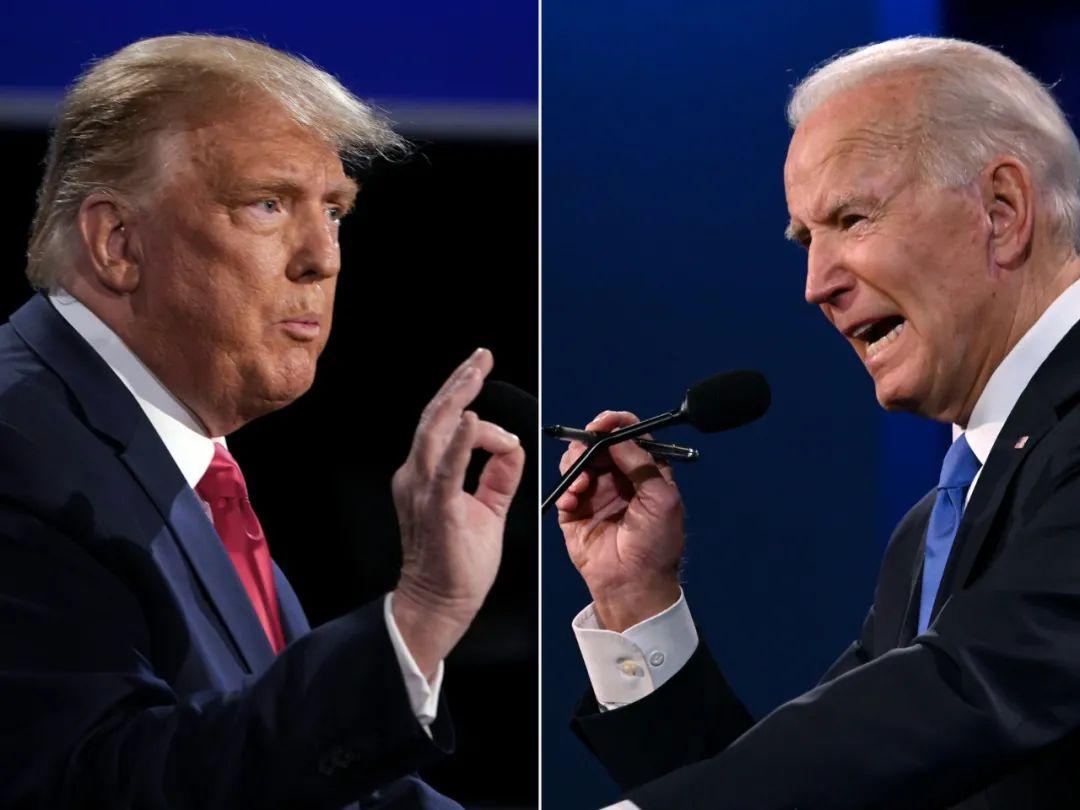 """美国大选收官在即,末场辩论强行""""闭麦"""""""