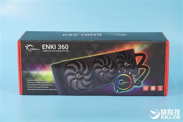 usdt充值接口(caibao.it):首次杀入CPU水冷 芝奇ENKI 360水冷散热器图赏 第9张