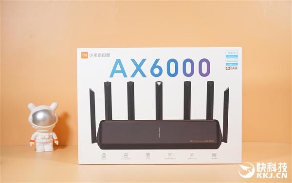 电银付使用教程(dianyinzhifu.com):6000兆无线史上最强!小米路由器AX6000开箱图赏 第17张