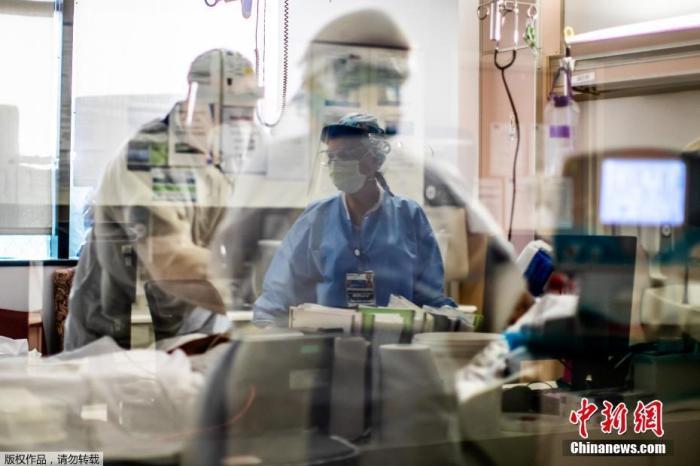 美国加州首次确诊变异新冠病毒感染病例