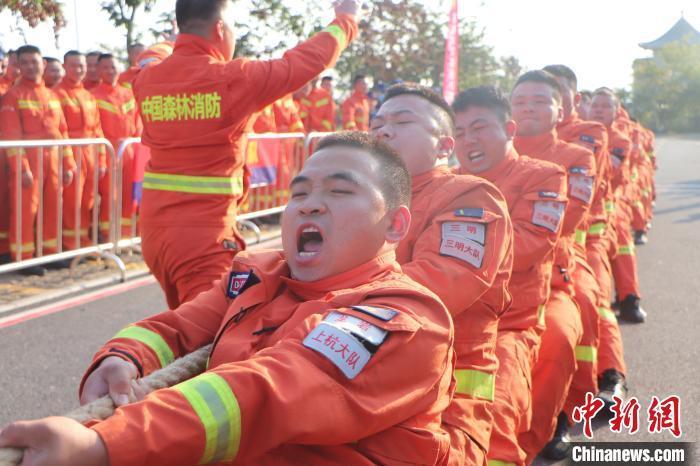 """""""蓝剑-2020""""跨区域森林火灾联合扑救演练举行"""