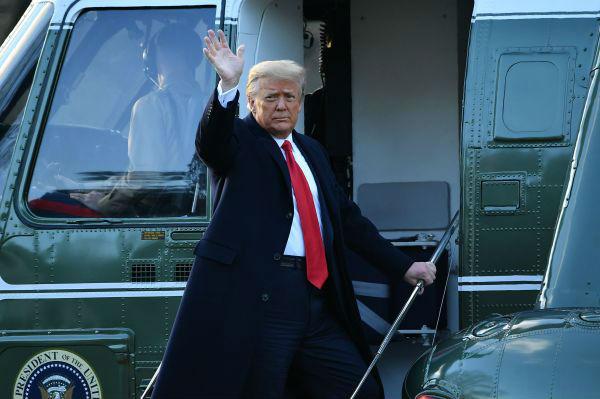 特朗普黯然结束四年总统生涯 告别演说自夸外交成就